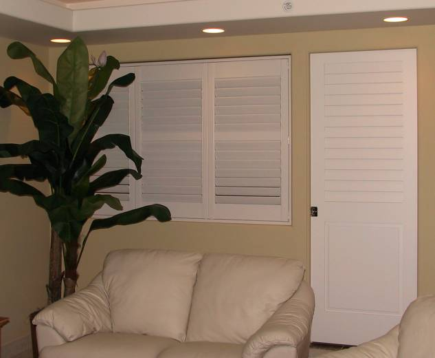 vinyl shutters interior bedroom opening